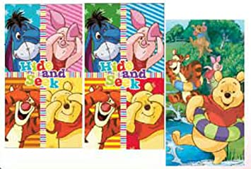 Disney Winnie Pooh 3er Set KINDERHANDTUCH 35x65cm Handtuch: Amazon ...