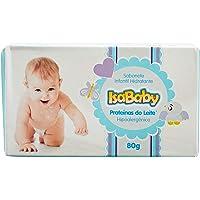 Sabonete Infantil Hidratante Proteínas Do Leite, Isababy, Azul