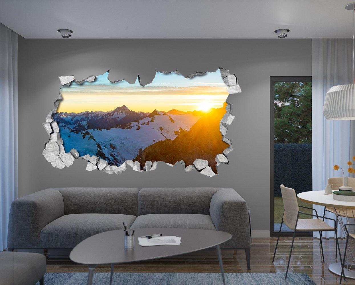 87 x 48 cm, Cielo Efecto Techo 3D Vinilos Adhesivos Decorativos Papel Pintado Efecto 3D