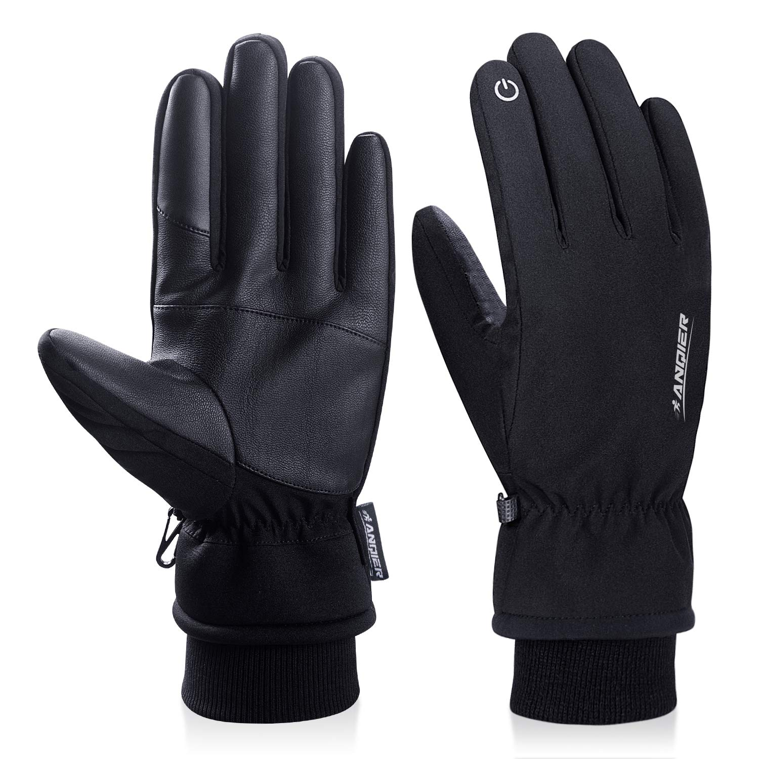 Apparel Accessories 2019 1pair Suede Touch Screen Gloves Men Women Winter Thermal Gloves Outdoor Cycling Sport Ski Gloves Waterproof