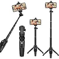Selfie Stick Tripod, Tobeape 40 inch Lightweight Extendable Phone Tripod Stand with Bluetooth Remote Wireless Smartphone…