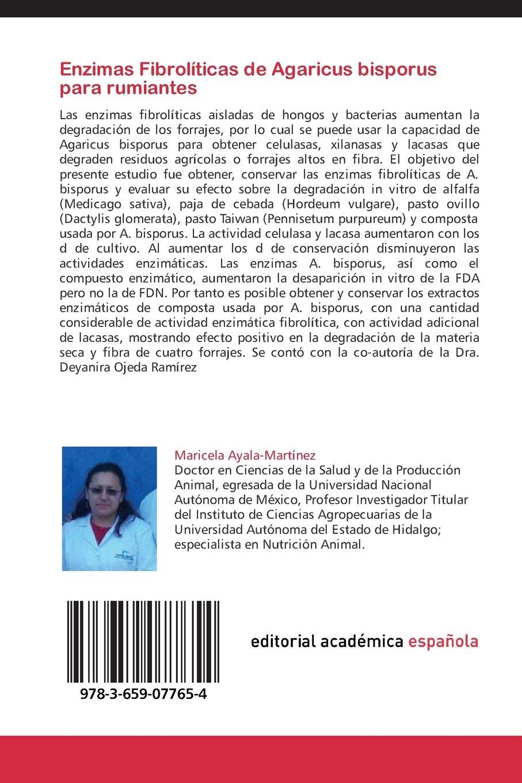 Enzimas Fibroliticas de Agaricus Bisporus Para Rumiantes ...