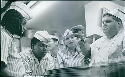 Vintage foto de una escena de la película