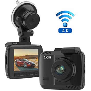 amazon com frizione 2 4 car dash cam 4k dash camera 150