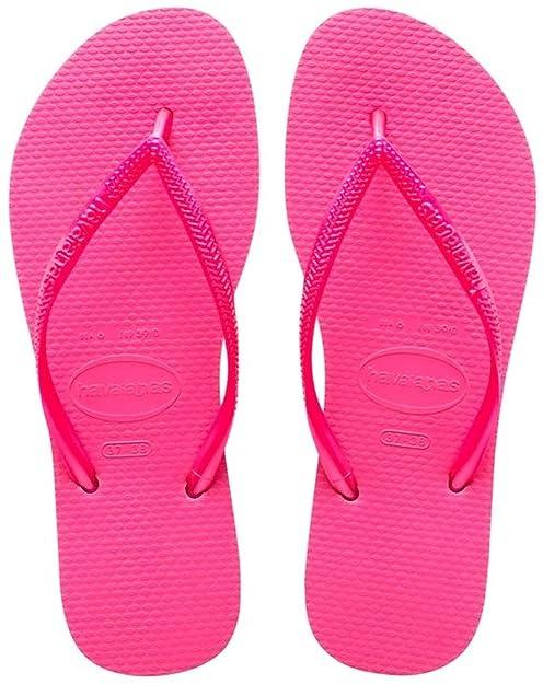 Havaianas Slim, Chanclas para Niñas, Rosa (Shocking Pink), 29/30