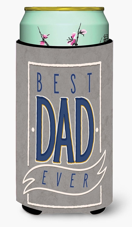 Caroline's Treasures BB5430TBC Best Dad Ever Tall Boy Beverage Insulator Hugger, Tall Boy, multicolor