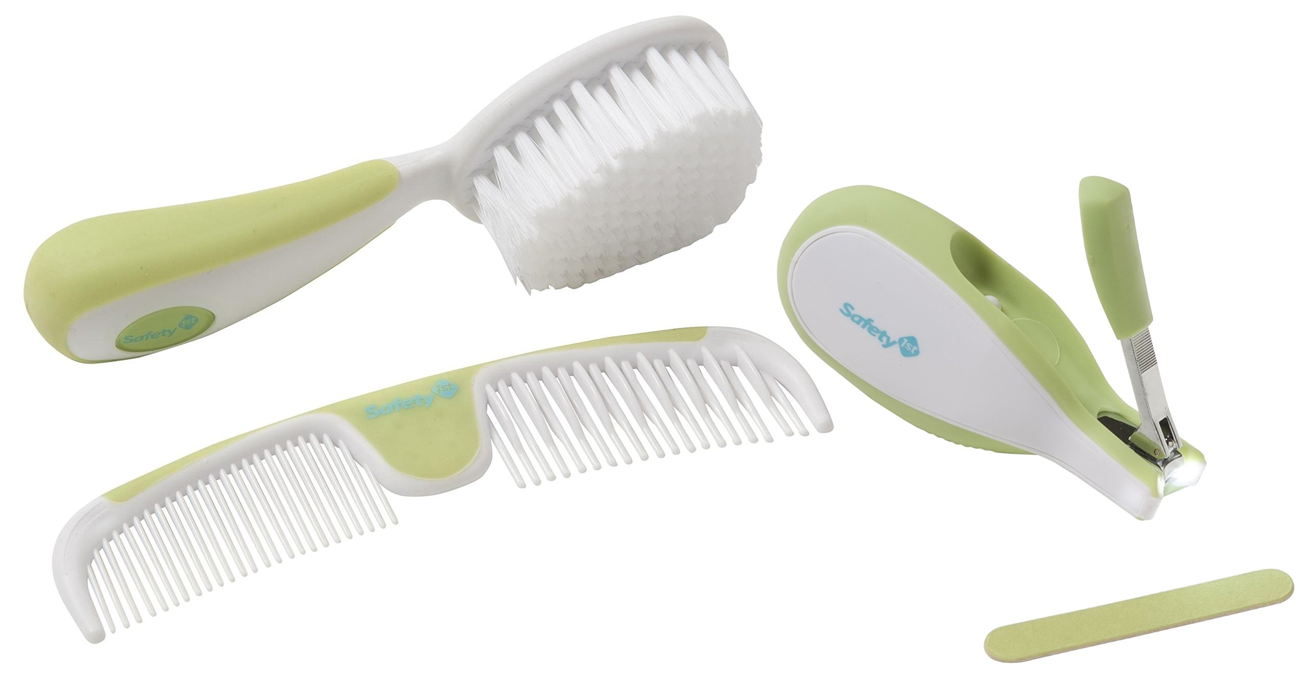 Safety 1st Sleepy Baby Nail Clipper with Comb & Brush Set