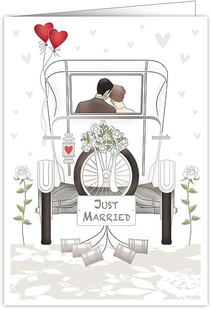 Quire Mac - Tarjeta de felicitación para boda (tamaño extra grande ...