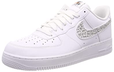official photos bf700 e2b69 Nike Herren Air Force 1 07 Lv8 JDI Lntc Sneakers Mehrfarbig WhiteBlack