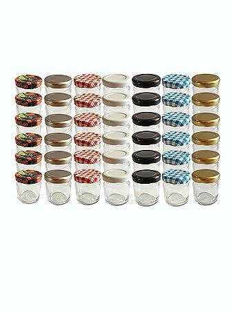 30er Set Sturzglaser Mini Glaser 37 Ml Rundglaser Marmeladenglaser