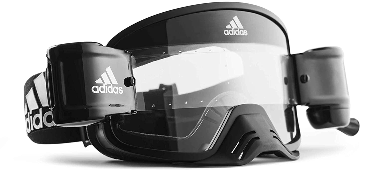 Amazon.com: adidas Eyewear Backland Dirt – Marco negro mate ...
