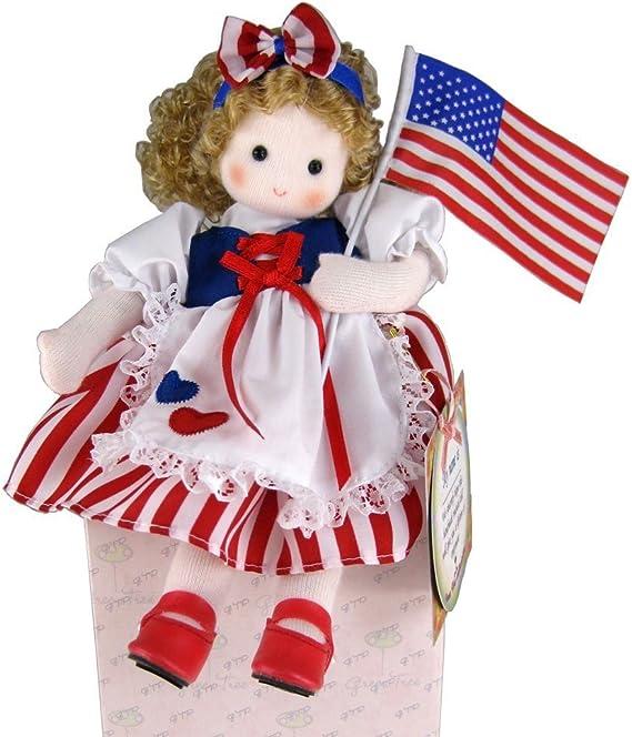 Amazon.es: Green Tree Products Muñeca de niña de EEUU: Juguetes y juegos