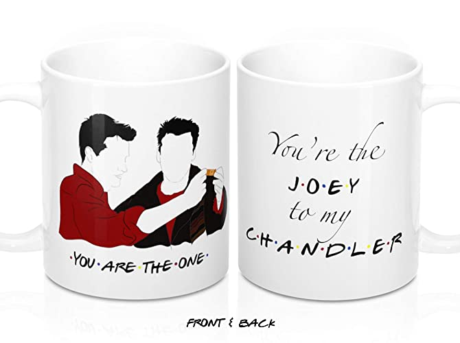 74c189e97e9 Amazon.com: Joey To My Chandler, Friends Tv Show merchandise ...