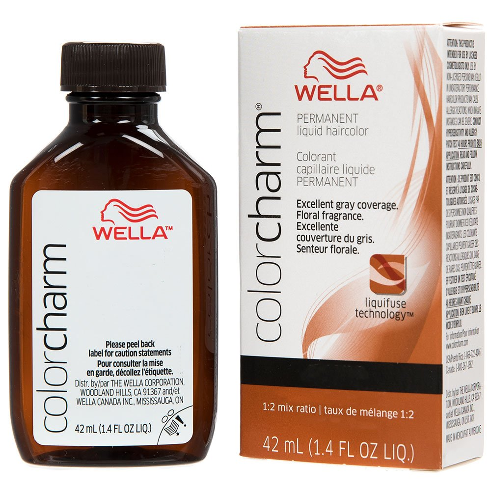 Amazon Wella Charm Liquid Permanent Hair Color 3564r