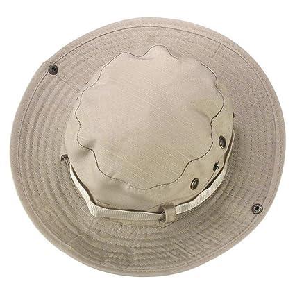 Gaddrt Garden Wide Brim Cap estate Outdoor protezione solare pesca  escursionismo berretto anti-UV cappello da sole cappello secchio cappello 58f51388093a