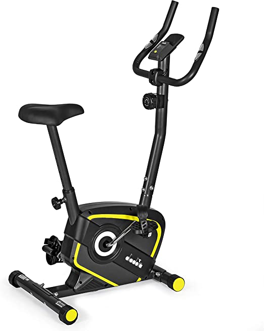 Avversario Monopolio sgattaiolare  Diadora Fitness Lilly Evo, Cyclette Magnetica,Unisex, Adulto, Nero/Giallo:  Amazon.it: Sport e tempo libero