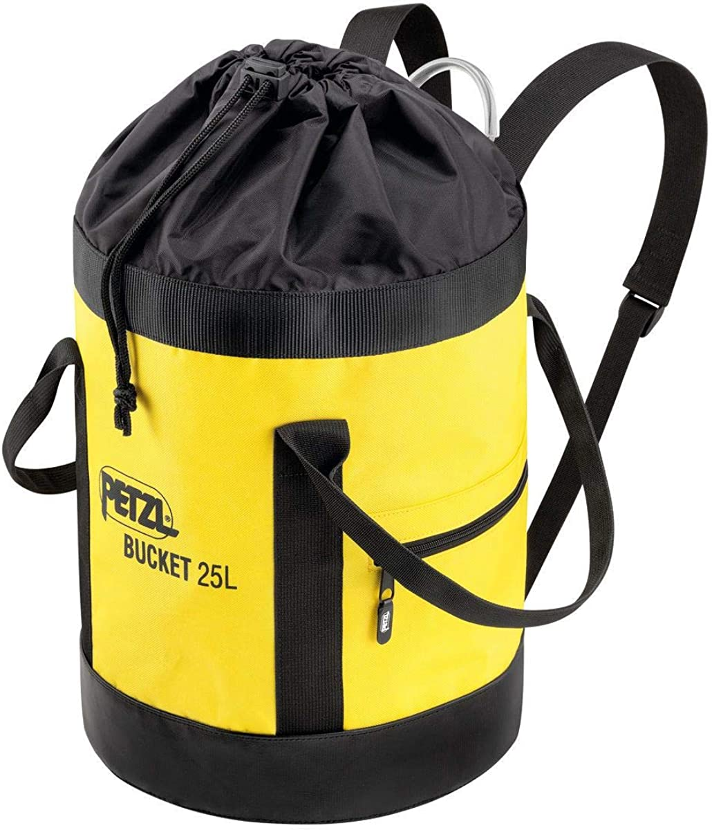 PETZL - Bucket, Fabric Pack, Remains Upright, 25 Liters : Clothing