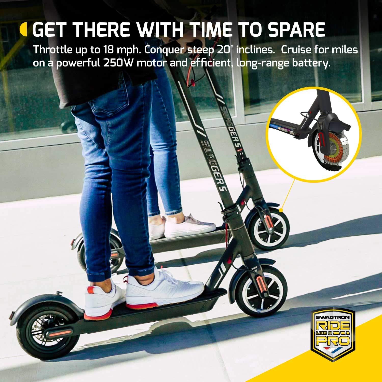 Amazon.com: Swagger 5 T Scooter eléctrico de alta velocidad ...