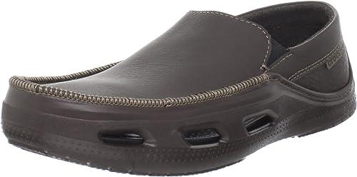 Crocs Men's Tideline Sport Leather Slip
