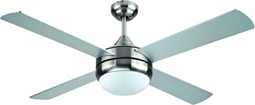 BLACK DECKER BCF5252R 52-Inch 4-Bladed Remote Controllable Brushed Nickel Ceiling Fan