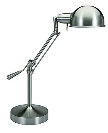 Charmant V LIGHT Pharmacy Style CFL Desk Lamp With Height Adjustable Tilt Arm Feature