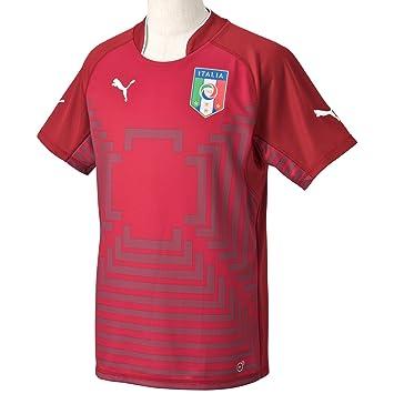 Puma Trikot Figc Italia GK Shirt Replica - Camiseta de portero de fútbol para hombre, color rojo, talla M: Amazon.es: Deportes y aire libre