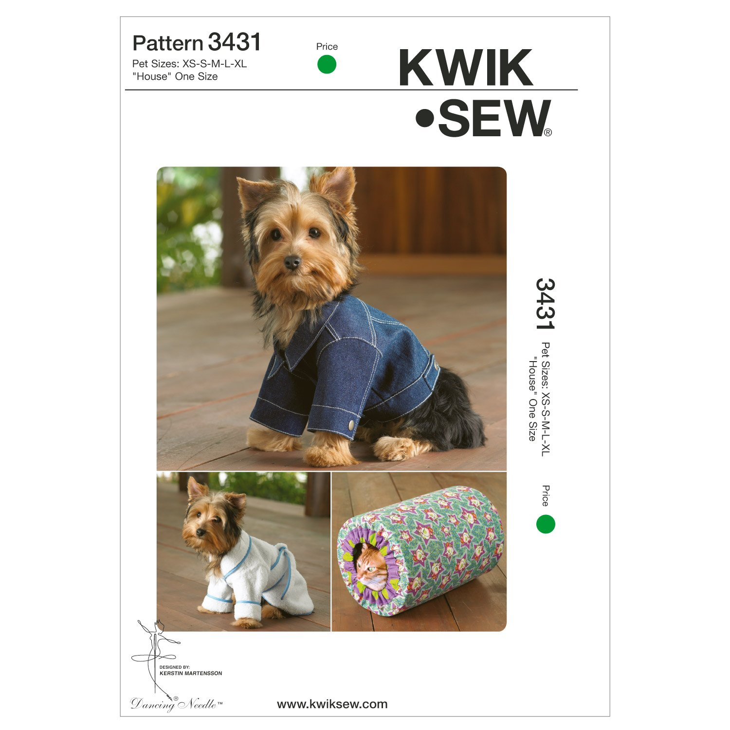 Amazon kwik sew k3431 pet robe sewing pattern jacket arts amazon kwik sew k3431 pet robe sewing pattern jacket arts crafts sewing jeuxipadfo Gallery