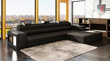 Amazon.com: Polaris Mini - Black Contemporary Leather ...