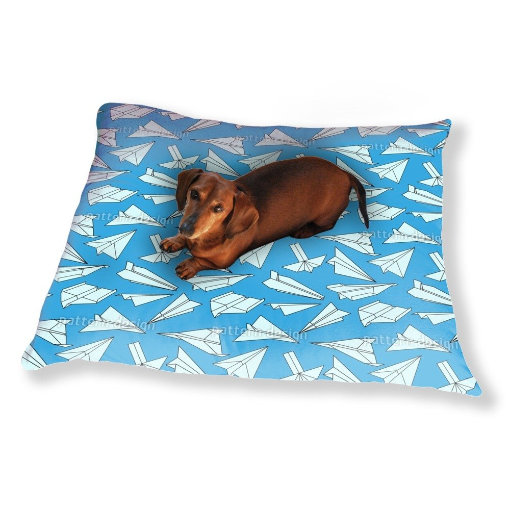Full Of Paper Planes Dog Pillow Luxury Dog / Cat Pet Bed