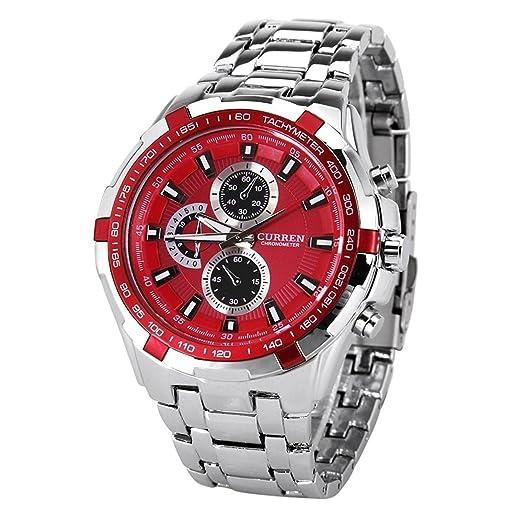 Reloj de Muñeca para Hombre Curren elegante cuarzo reloj de pulsera para hombres, Amazing