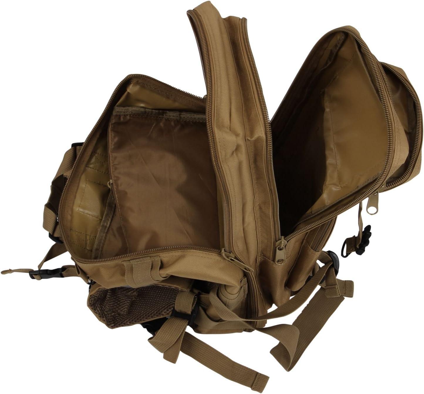 SODIAL Sac /à dos militaire pour la randonn/ée et le camping Camouflage 30/l R