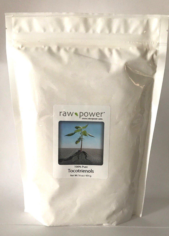Tocotrienols, Raw Power Brand (16 oz, Raw Rice Bran Solubles) Premium Quality, 100% Raw, Pure, Non-GMO