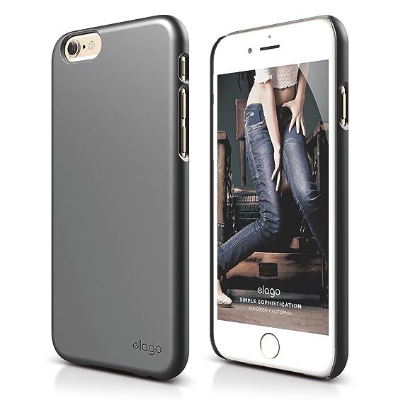watch 748ca c13d3 iPhone 6S Plus Case, elago [Slim Fit 2][Matte Metallic Dark Grey] -  [Light][Minimalistic][True Fit] - for iPhone 6 Plus/6S Plus