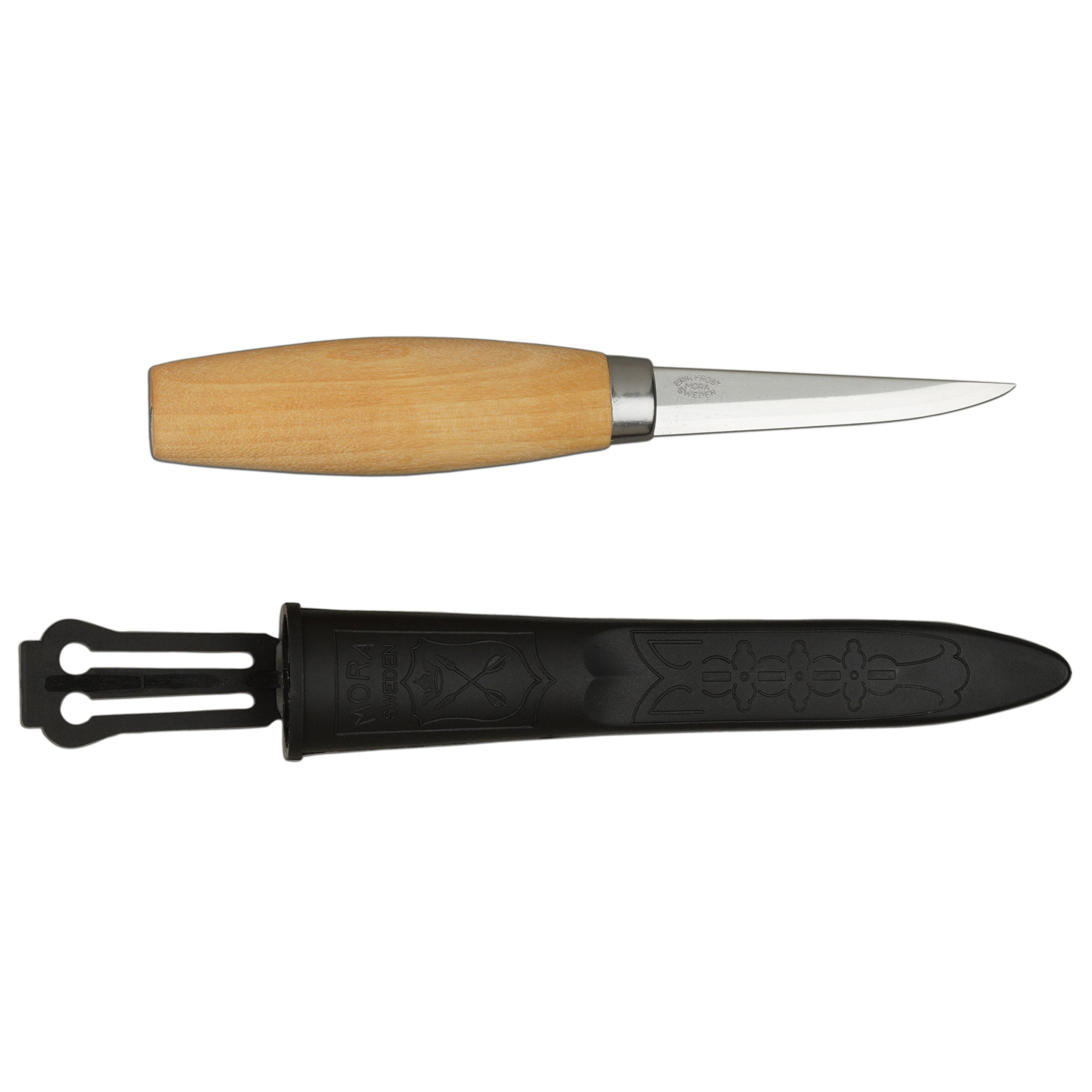 Morakniv Wood Carving 106 Knife with Laminated Steel Blade, 3.2-Inch by Morakniv