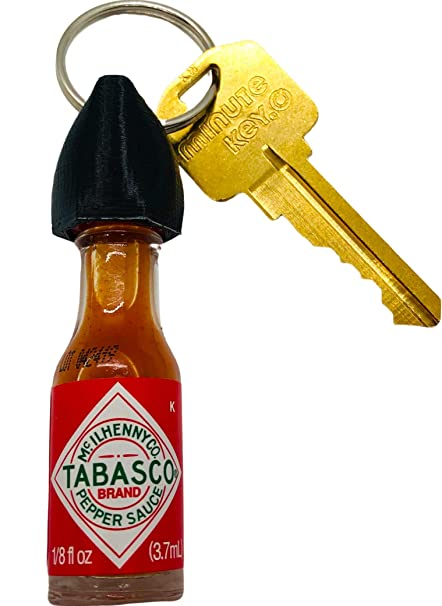 Amazon.com: Tabasco - Llavero de salsa caliente: Clothing