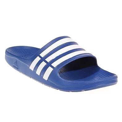 8ea1cefd54c9a adidas Duramo Slide Mens Flip Flop Sandal - Royal Blue