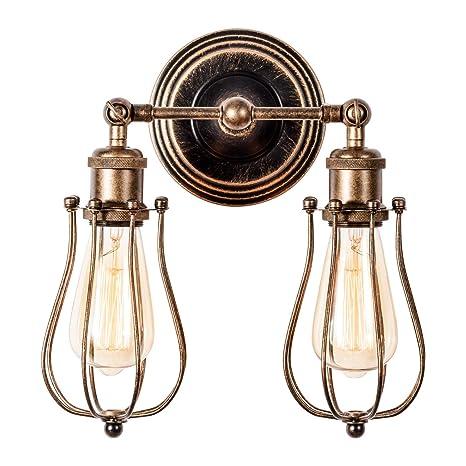 Retro Industrial Wall Light Adjustable Metal Rustic Wall Lamp Lighting Fixtures