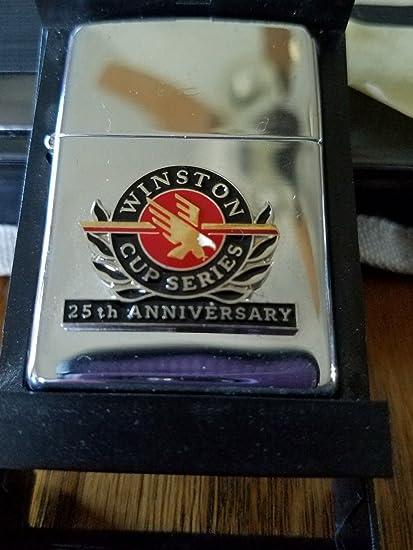 Amazon com: Rare Nascar 25th Anniversary Winston Cup Zippo Lighter