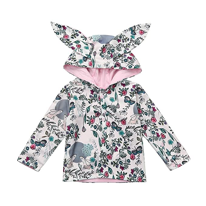 f5f827188 Amazon.com  Bokeley Newborn Coat Baby Boys Girls Clothes Rabbit ...