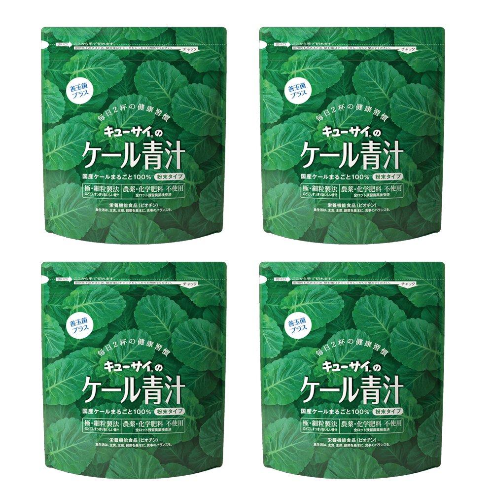 キューサイ 青汁善玉菌プラス420g(粉末タイプ)4袋まとめ買い【1袋420g 約1カ月分】   B00857JFQ0