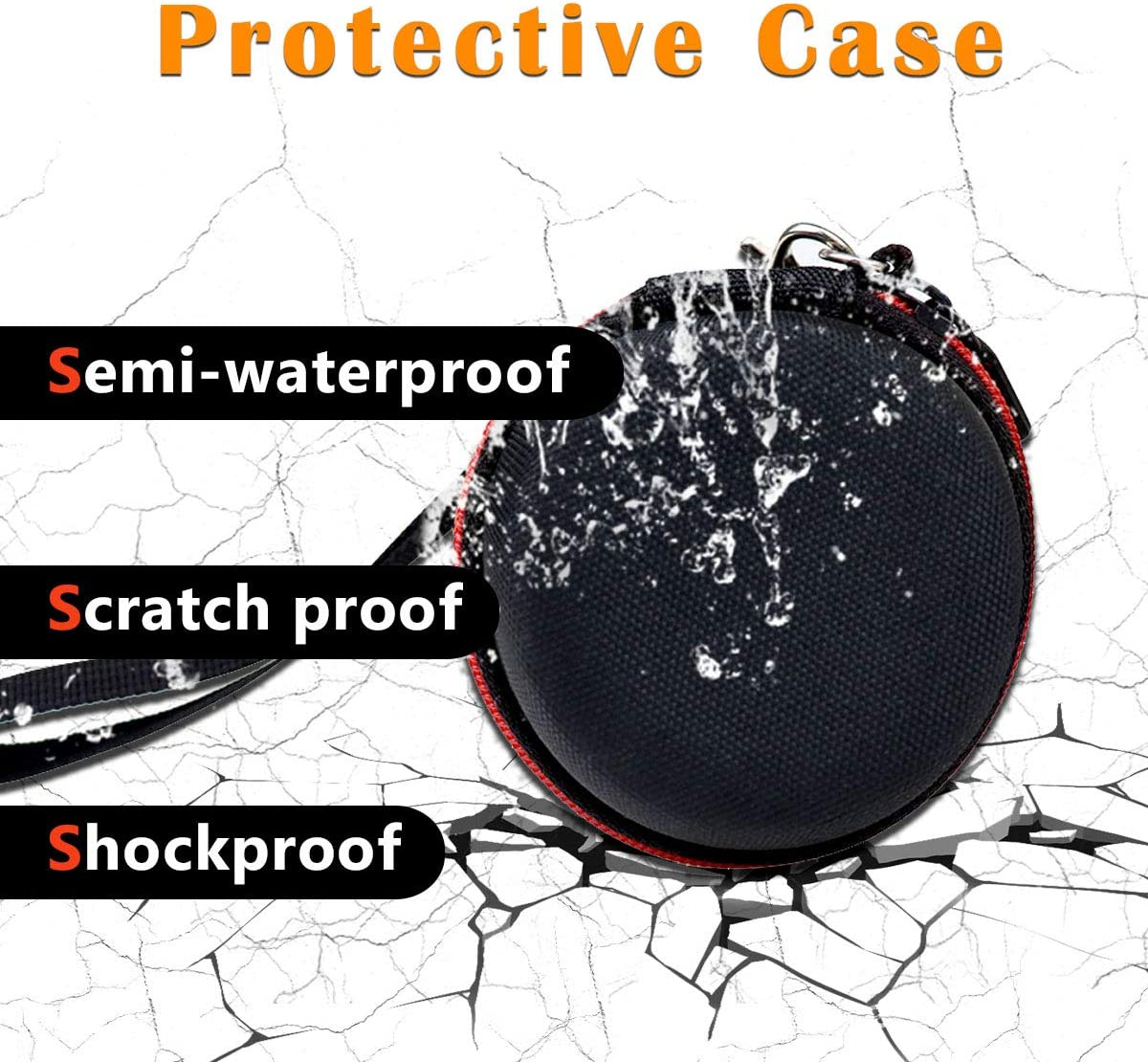 Asafez Hard Protective Case Compatible with Lectrofan Micro Sleep Sound Machine /& Bluetooth Speaker for Sleep /& Sound Masking