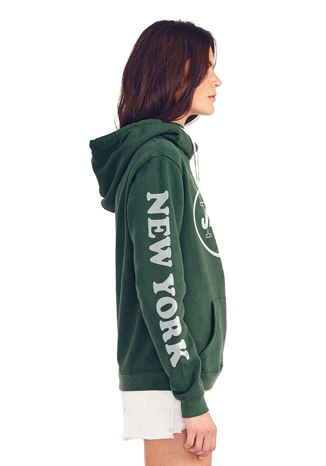 New York Jets Cowl Neck Womens Hoodie X-Small
