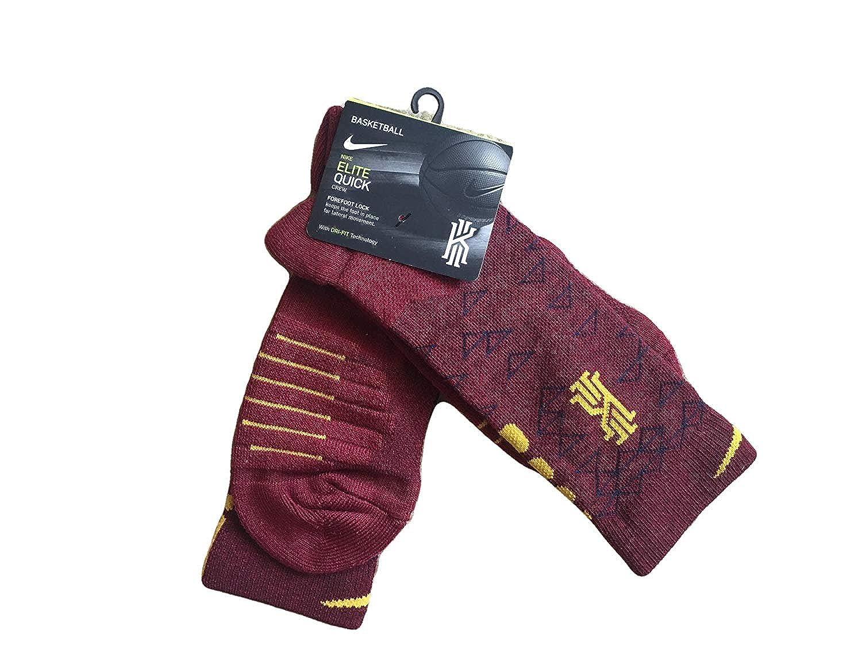 Amazon.com: Nike Elite Quick Crew Basketball Socks Team Red ...