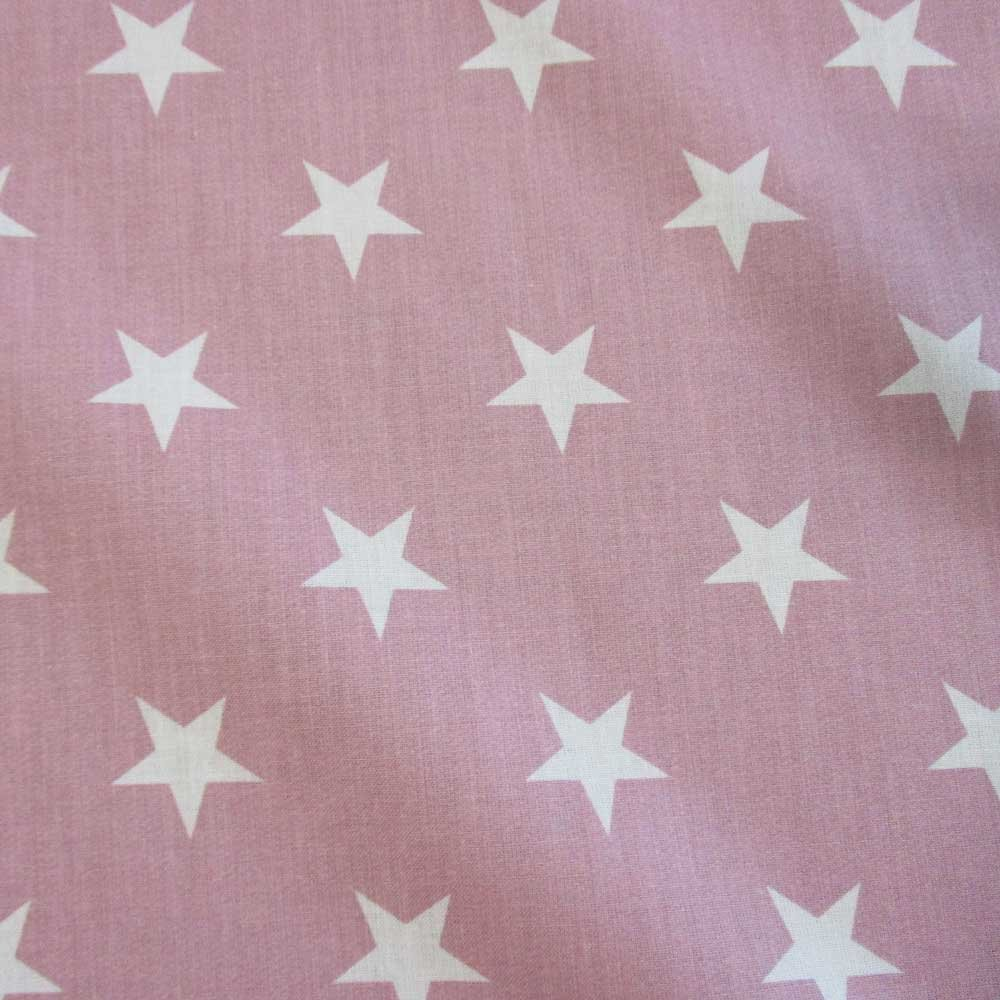 Stoff Baumwollstoff Sterne hellgrau weiß Tischdecke Frankreich grau groß neu