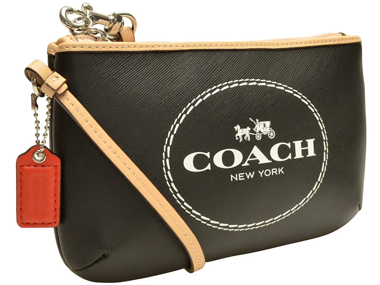 (コーチ) COACH ポーチ ブラック レザー f51788svbk アウトレット レディース ブランド 並行輸入品   B00NITB6KS