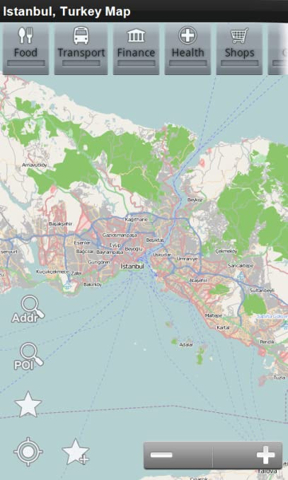 Amazon.com: Istanbul, Turkey Offline Map: PLACE STARS: Appstore for ...