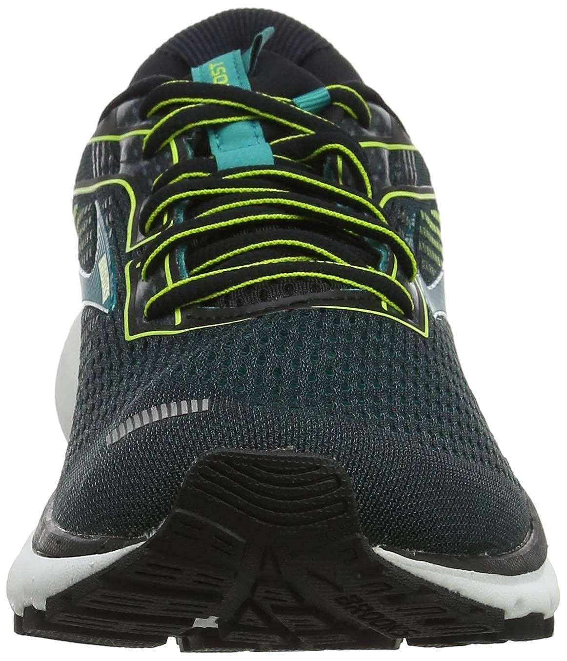 Noir Chaussures de Running Homme 45 EU Brooks Ghost 12 Black//Lime//Blue Grass 018