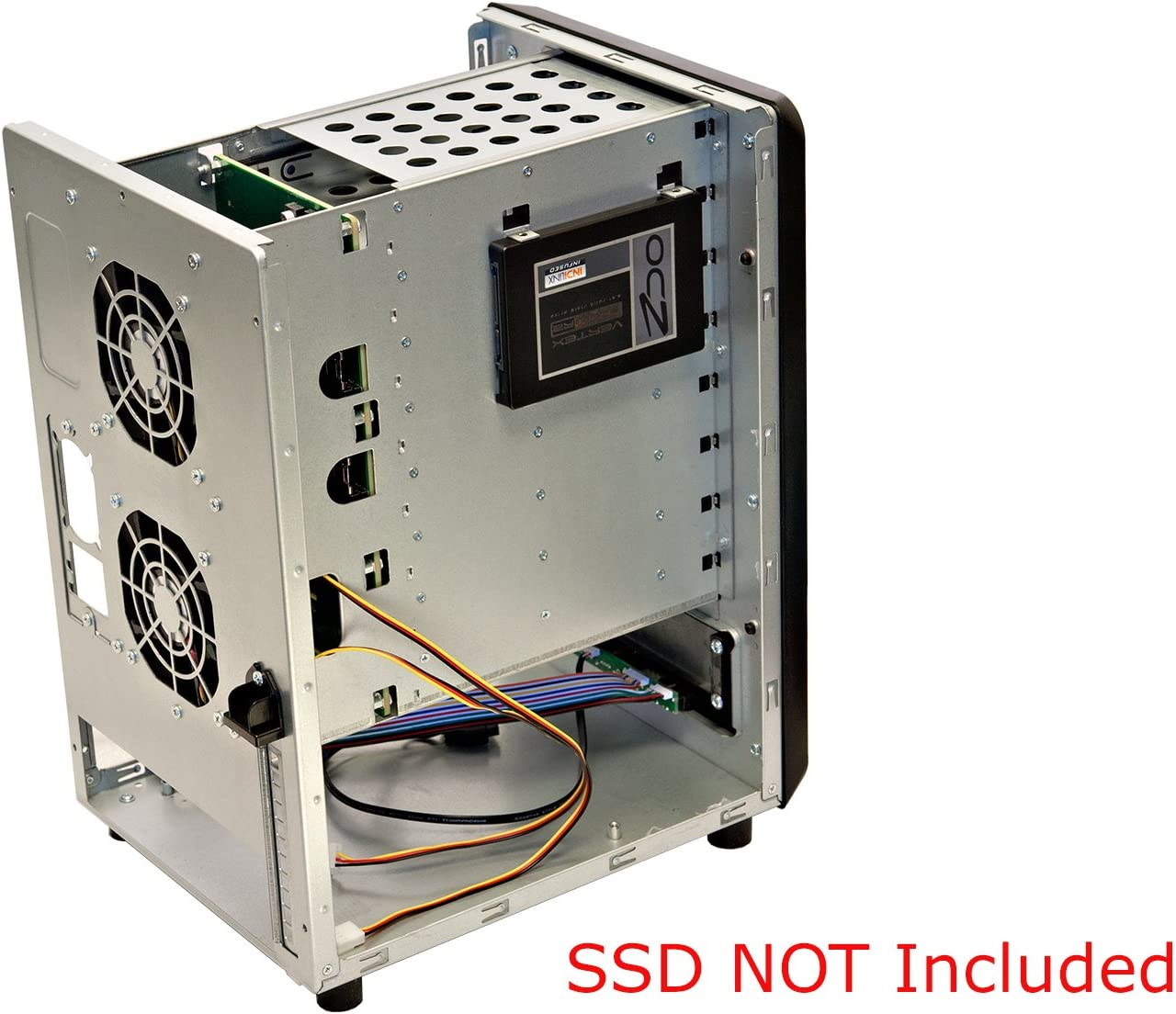 Norco Mini-ITX Form Computer Server Storage Case Support 8 X Hot Swap Drive Trays