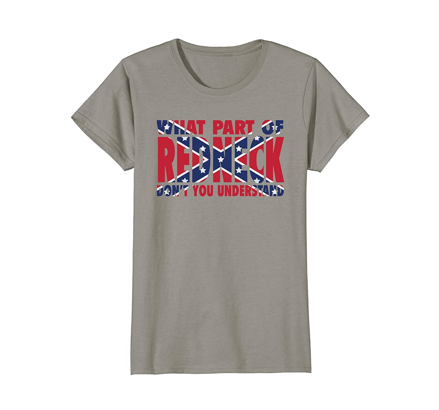 76047f558 Amazon.com: WHAT PART OF REDNECK T-SHIRT Southern T-Shirt: Clothing