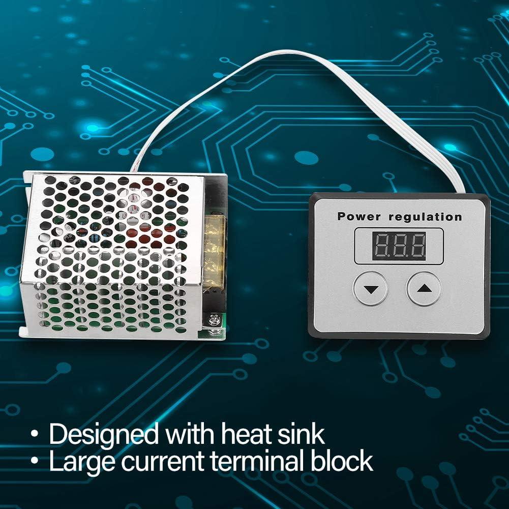 R/égulateur de tension num/érique haute puissance 4000 W SCR R/égulateur de vitesse Variateur Thermostat AC 220 V